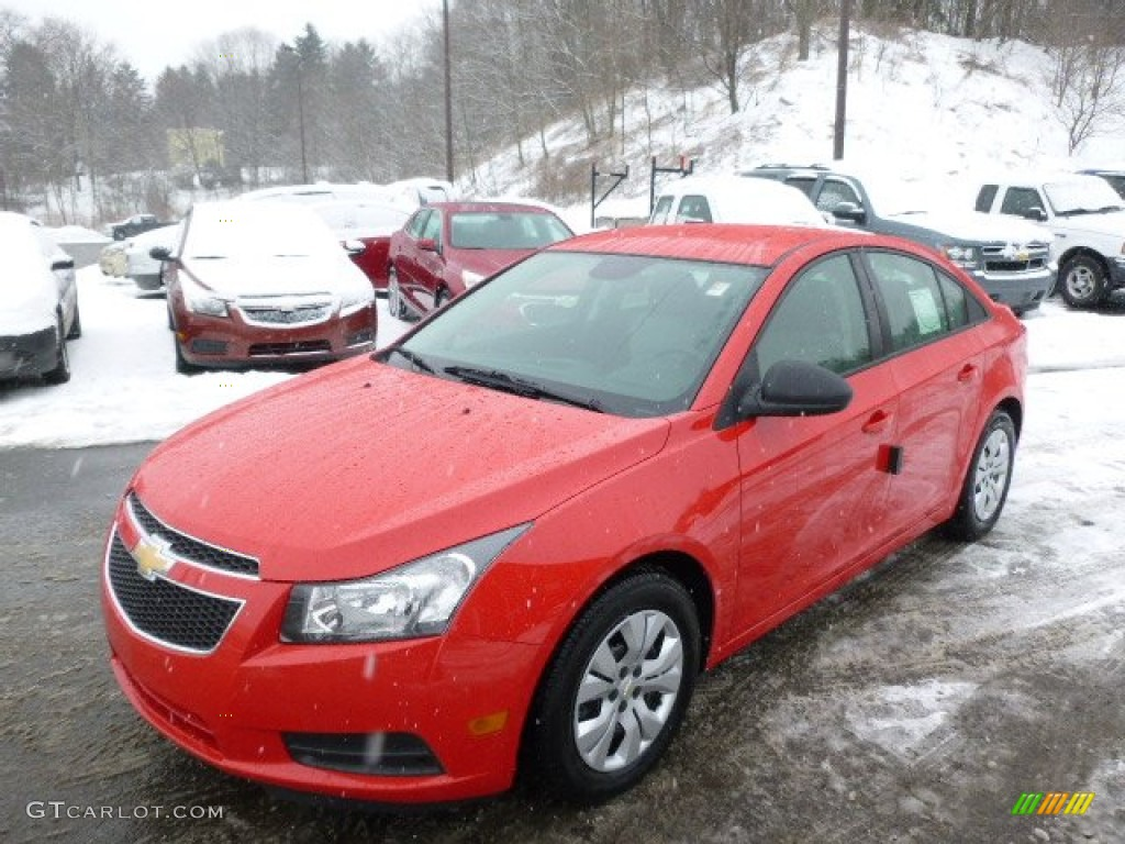 Red Hot 2014 Chevrolet Cruze Ls Exterior Photo 90561770