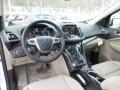 2014 White Platinum Ford Escape Titanium 1.6L EcoBoost 4WD  photo #12