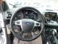 2014 White Platinum Ford Escape Titanium 1.6L EcoBoost 4WD  photo #20