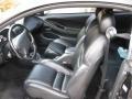 1996 Ford Mustang Black Interior Interior Photo