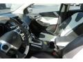 2012 White Platinum Tricoat Metallic Ford Focus Titanium 5-Door  photo #11
