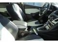 2012 White Platinum Tricoat Metallic Ford Focus Titanium 5-Door  photo #13