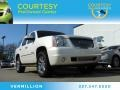White Diamond Tricoat 2009 GMC Yukon Denali AWD