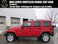Flame Red 2014 Jeep Wrangler Unlimited Sahara 4x4