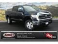 2014 Black Toyota Tundra SR5 Crewmax 4x4  photo #1