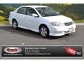 Super White 2003 Toyota Corolla Gallery