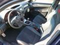 2014 Subaru Impreza STI Black Alcantara/ Carbon Black Leather Interior Prime Interior Photo