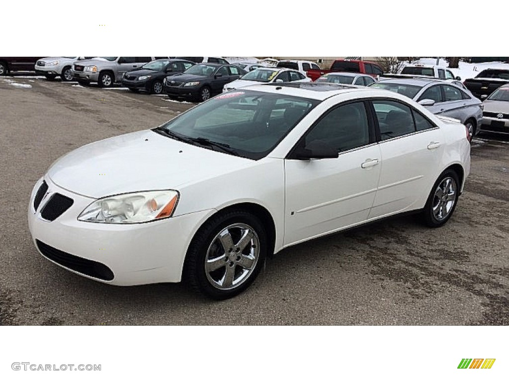 ivory white 2006 pontiac g6 gt sedan exterior photo 90654546. Black Bedroom Furniture Sets. Home Design Ideas