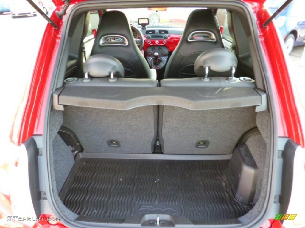 Fiat 500 Abarth Trunk 2012 Fiat 500 A...