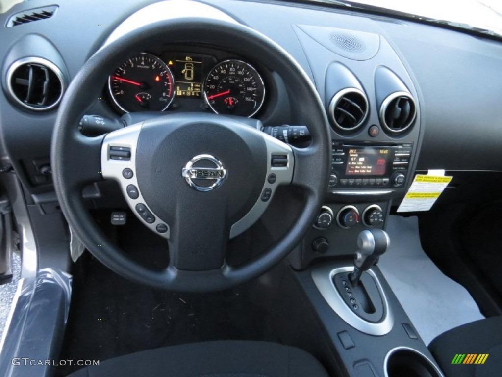2014 Nissan Rogue Select S Black Dashboard Photo #90663376 | GTCarLot.com