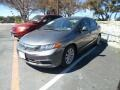 Polished Metal Metallic 2012 Honda Civic EX-L Sedan