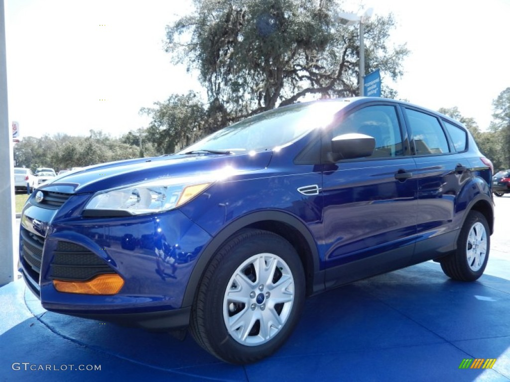 2014 Escape S - Deep Impact Blue / Charcoal Black photo #1