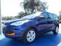 2014 Deep Impact Blue Ford Escape S  photo #1