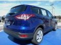 2014 Deep Impact Blue Ford Escape S  photo #3