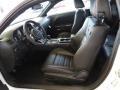Anniversary Dark Slate Gray/Molten Red 2014 Dodge Challenger Interiors