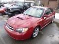 Garnet Red Pearl 2005 Subaru Legacy Gallery