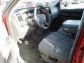 2006 Inferno Red Crystal Pearl Dodge Ram 3500 SLT Quad Cab Dually  photo #7