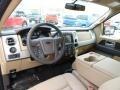 Pale Adobe 2014 Ford F150 Interiors