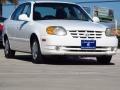 Noble White 2005 Hyundai Accent GLS Sedan