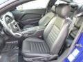 2014 Ford Mustang Charcoal Black Interior Front Seat Photo
