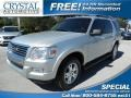 Brilliant Silver Metallic 2009 Ford Explorer XLT