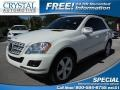 Arctic White 2010 Mercedes-Benz ML 350