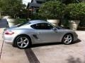 Arctic Silver Metallic 2007 Porsche Cayman S