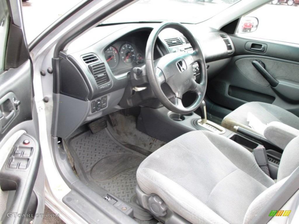 2001 Honda Civic Ex Sedan Interior Color Photos
