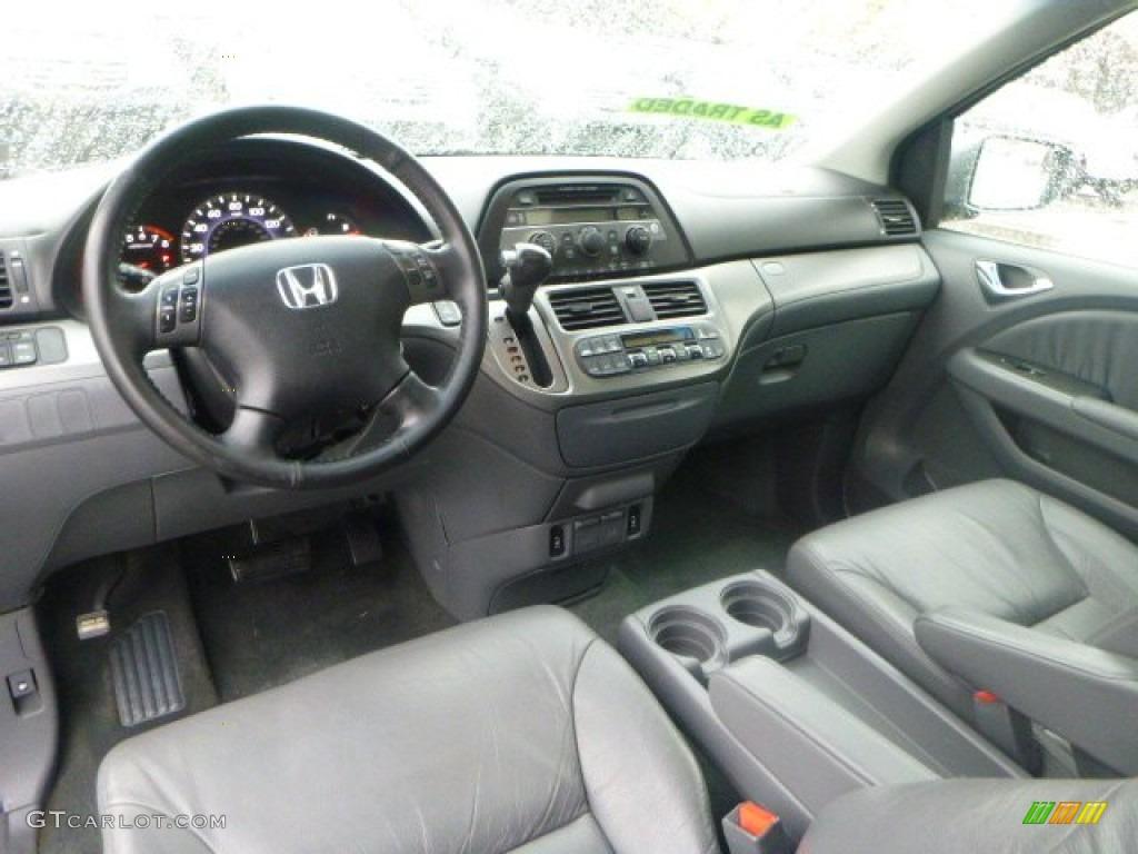 2007 slate green metallic honda odyssey ex l 90745703 for 2007 honda odyssey interior