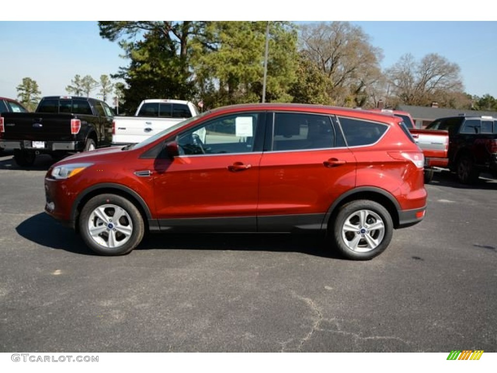 2014 Escape SE 1.6L EcoBoost - Sunset / Medium Light Stone photo #8