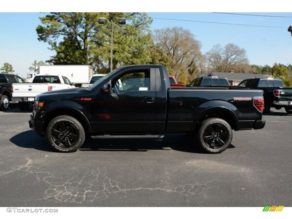 Tuxedo Black 2014 Ford F150 Fx2 Tremor Regular Cab Exterior Photo 90769578 Gtcarlot Com