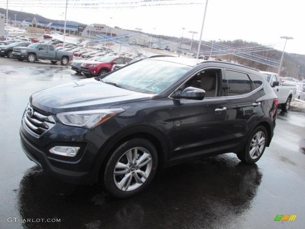 2014 marlin blue hyundai santa fe sport 2 0t awd 90745432. Black Bedroom Furniture Sets. Home Design Ideas