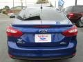 2012 Sonic Blue Metallic Ford Focus SEL Sedan  photo #5