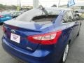 2012 Sonic Blue Metallic Ford Focus SEL Sedan  photo #8
