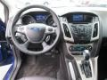 2012 Sonic Blue Metallic Ford Focus SEL Sedan  photo #11