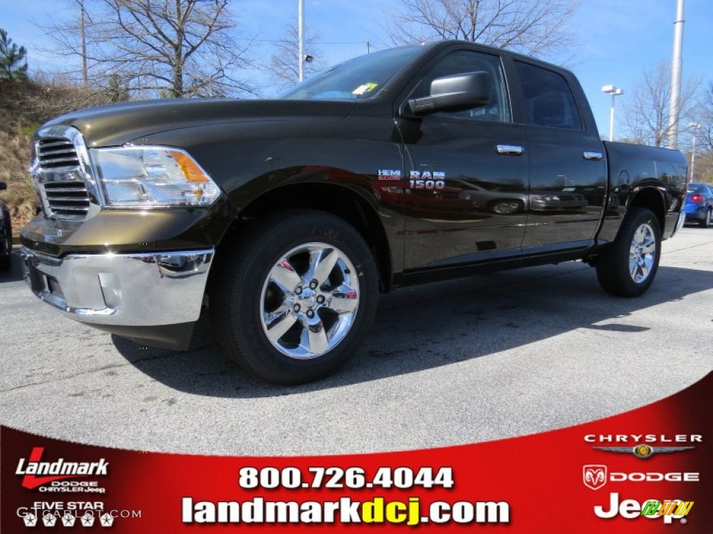 2014 Black Gold Pearl Coat Ram 1500 Big Horn Crew Cab 90790290 Dodge Paint Colors