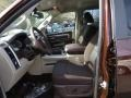 Canyon Brown/Light Frost Beige Interior Photo for 2014 Ram 1500 #90795354