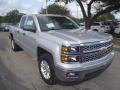 Silver Ice Metallic - Silverado 1500 LT Double Cab Photo No. 1