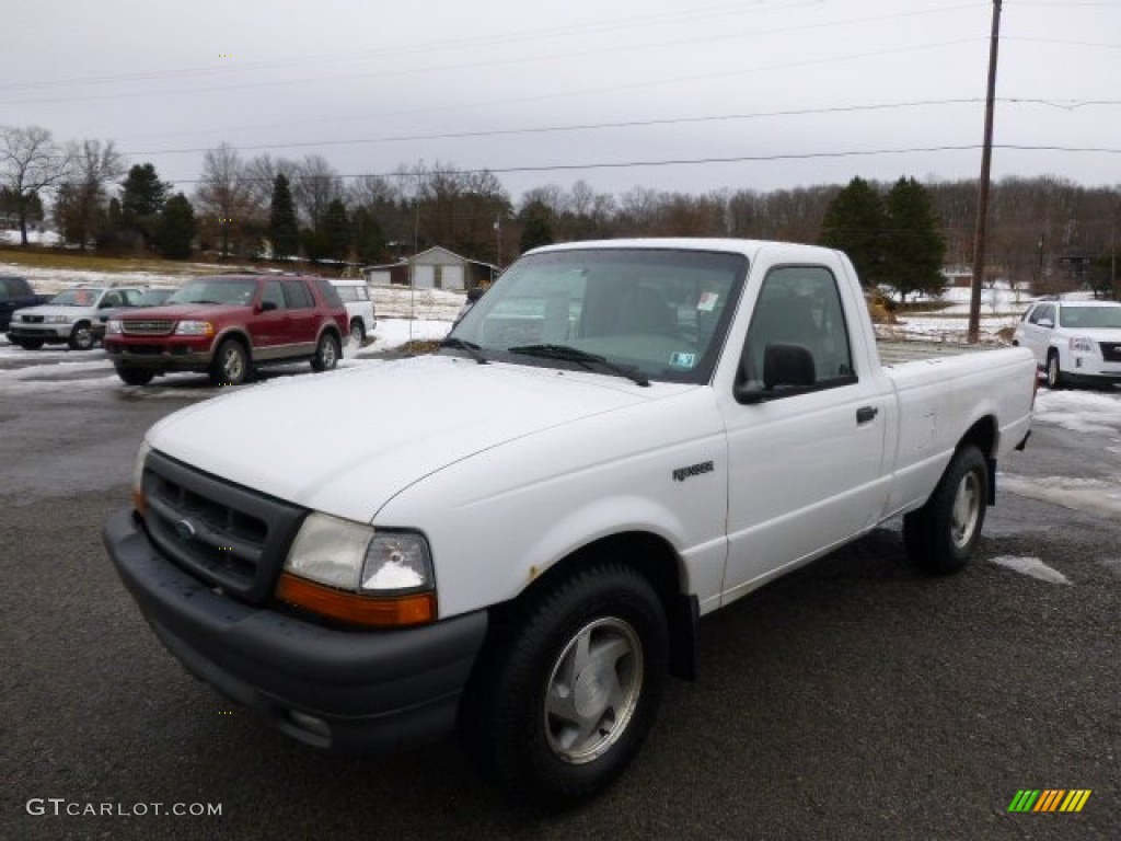 2000 Oxford White Ford Ranger Xl Regular Cab 90790365