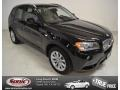 Jet Black 2013 BMW X3 xDrive 28i