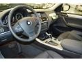 2014 BMW X3 Black Interior Dashboard Photo