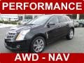 Black Ice Metallic 2011 Cadillac SRX 4 V6 AWD