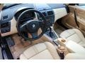 2006 BMW X3 Sand Beige Interior Interior Photo