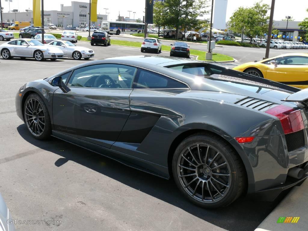 2008 Grigio Telesto Metallic Grey Lamborghini Gallardo
