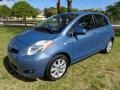 Bayou Blue Pearl 2009 Toyota Yaris 5 Door Liftback