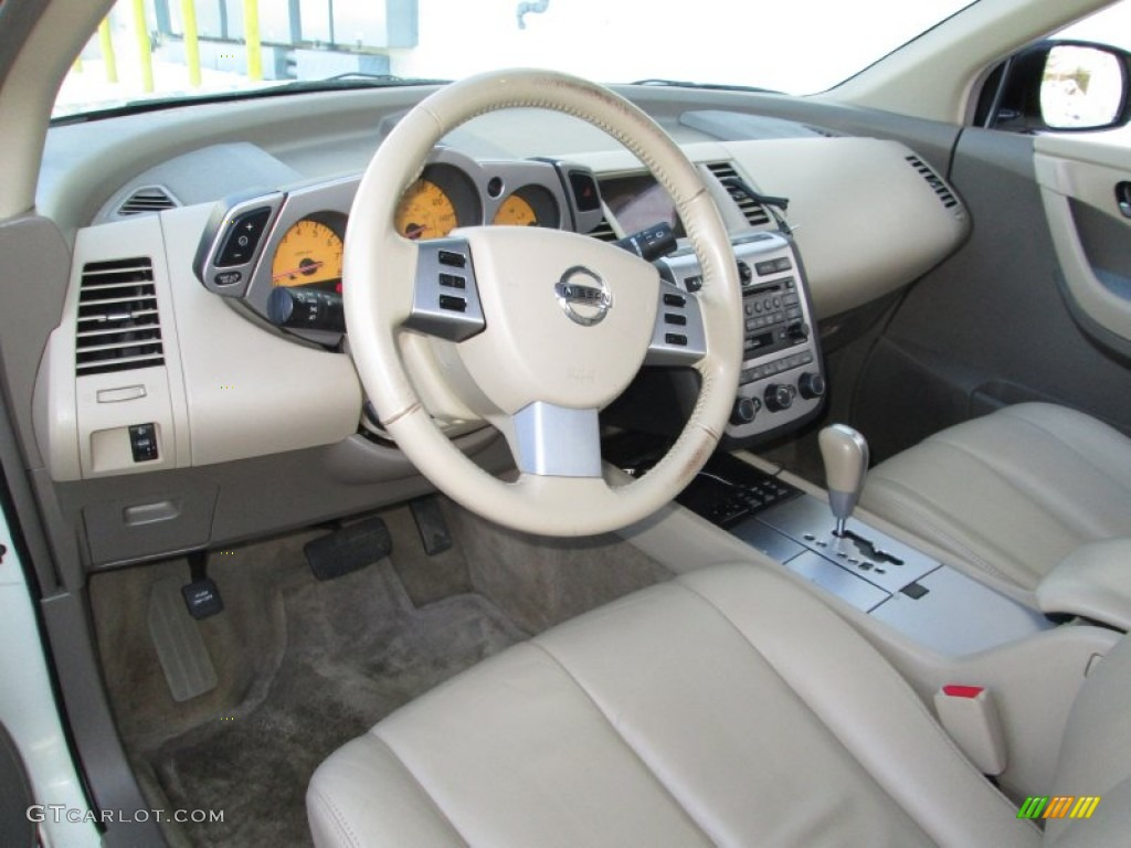 cafe latte interior 2004 nissan murano sl awd photo #90835711