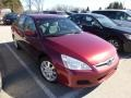 Redondo Red Pearl 2006 Honda Accord LX V6 Sedan