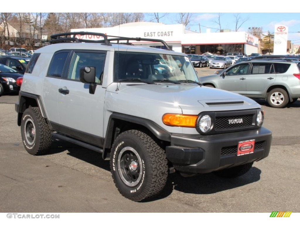 2013 trail teams cement gray toyota fj cruiser trail teams special edition 4wd 90852228. Black Bedroom Furniture Sets. Home Design Ideas