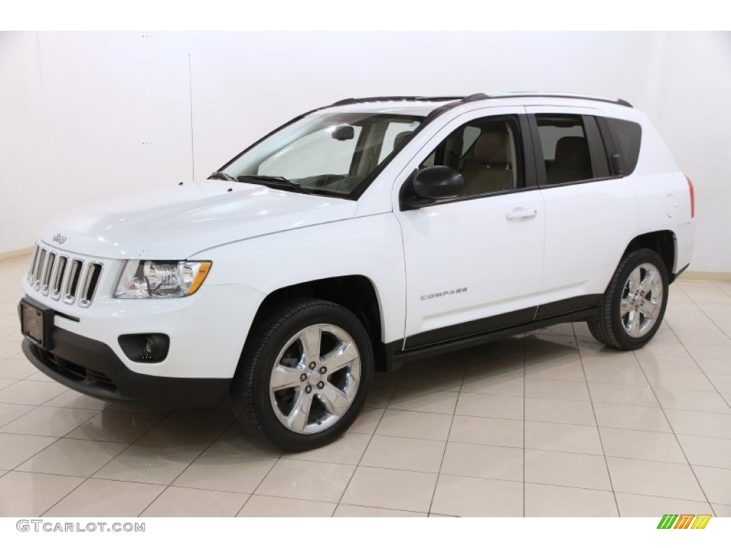 bright white 2011 jeep compass 2 4 limited 4x4 exterior photo 90856619. Black Bedroom Furniture Sets. Home Design Ideas
