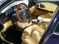 Beige 2007 Maserati Quattroporte Interiors
